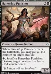 Banewhip Punisher on Channel Fireball