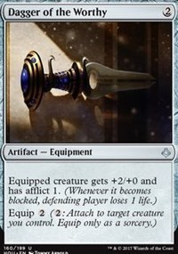 Dagger of the Worthy - Foil