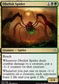Obelisk Spider - Foil