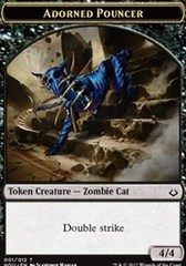 Adorned Pouncer Token on Channel Fireball