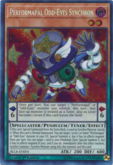 Performapal Odd-Eyes Synchron - BLLR-EN004 - Secret Rare - 1st Edition on Channel Fireball