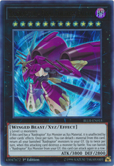 Raidraptor - Final Fortress Falcon - BLLR-EN015 - Ultra Rare 1st Edition