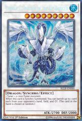 Trishula, Dragon of the Ice Barrier - BLLR-EN060 - Secret Rare - 1st Edition