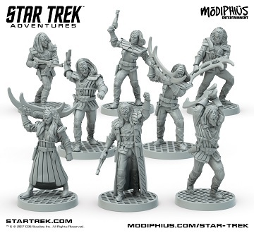 Star Trek Adventures Klingon Warband Minis 32Mm