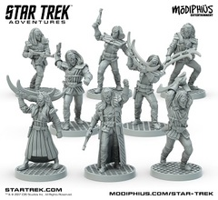 MUH051081/Star Trek Adventures: Klingon Warband Minis 32Mm