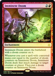 Imminent Doom - Foil - Prerelease Promo