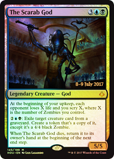 The Scarab God (HOU Prerelease Foil)