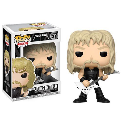 Pop! Rocks 57: Metallica - James Hetfield