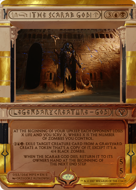 The Scarab God (Masterpiece Foil)