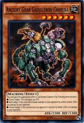 Ancient Gear Gadjiltron Chimera - SR03-EN006 - Common - Unlimited Edition on Channel Fireball