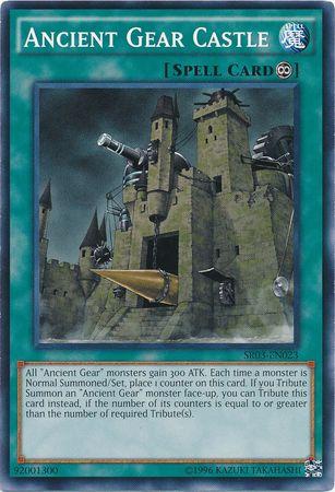 Ancient Gear Castle - SR03-EN023 - Common - Unlimited Edition