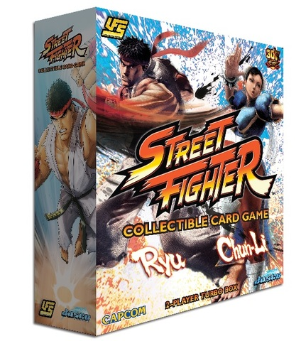 Street Fighter 2-Player Turbo Box