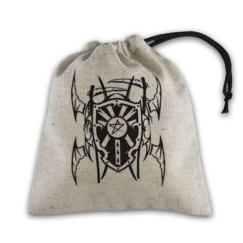 Q-Workshop - Basic Dice Bag - Vampire Beige And Black