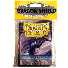 Dragon Shield - Mini 50Ct Pack: Purple