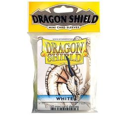 Dragon Shield - Mini 50Ct Pack: White
