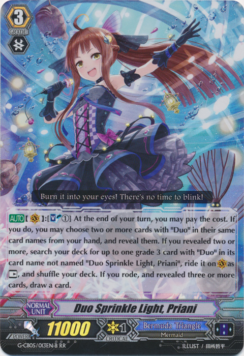 ARTY G-CB05//057EN C TOGETOGE BEAT CARDFIGHT VANGUARD CARD