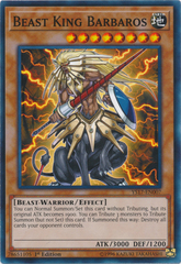 Beast King Barbaros - YS17-EN007 - Common - 1st Edition