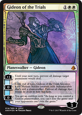 Gideon of the Trials - Foil - SDCC 2017 Exclusive