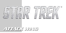 Star Trek Attack Wing - Federation Vs. Klingons Starter Set