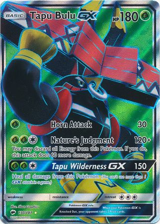 Tapu Bulu GX - 130/147 - Full Art Ultra Rare