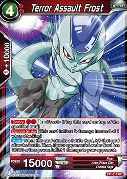 Terror Assault Frost - BT1-015 - UC
