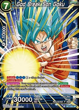 God Break Son Goku - BT1-031 - SR