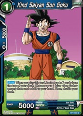Kind Saiyan Son Goku - BT1-033 - C on Channel Fireball