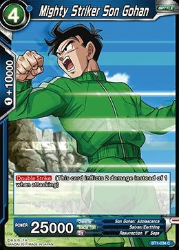 Mighty Striker Son Gohan - BT1-034 - C