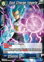 God Charge Vegeta - BT1-036 - R on Channel Fireball
