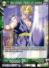 Son Gohan, Family of Justice - BT1-062 - C