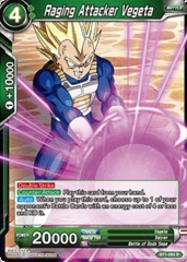 Raging Attacker Vegeta - BT1-064 - R