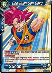 God Rush Son Goku - SD1-02 - ST