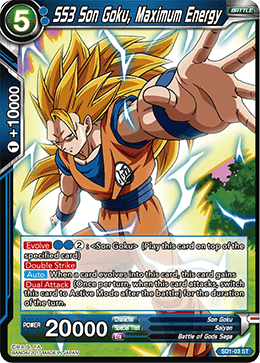 SS3 Son Goku, Maximum Energy