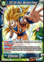 SS3 Son Goku, Maximum Energy - SD1-03 - ST