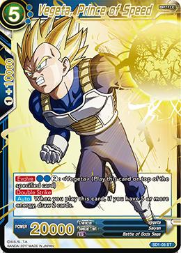 Vegeta, Prince of Speed