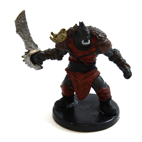 Orc B - Dungeons and Dragons Miniatures » Icons of the