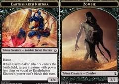 Earthshaker Khenra // Zombie Token