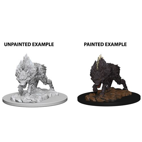 Pathfinder Battles Unpainted Minis - Dire Wolf
