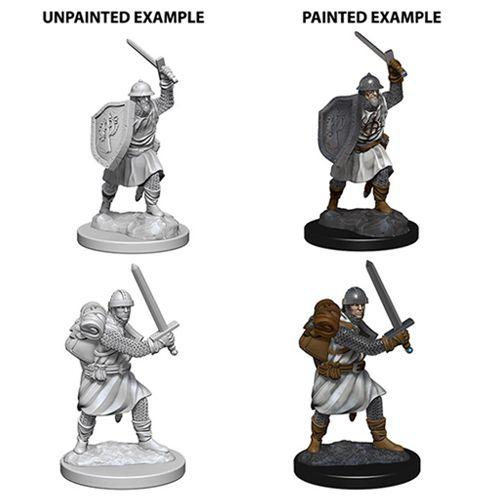 Pathfinder Battles Unpainted Minis - Infantrymen - Role Playing