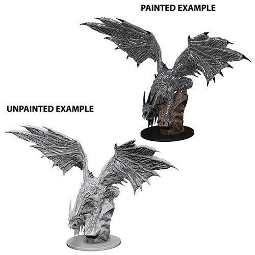 Pathfinder Battles Unpainted Minis - Silver Dragon - Role
