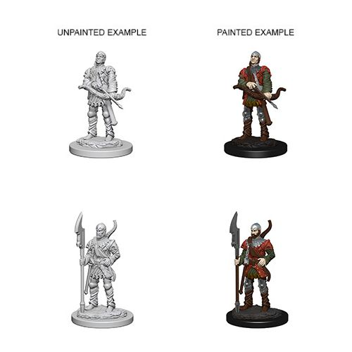 Pathfinder Battles Unpainted Minis - Town Guards