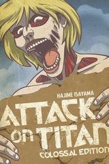 Attack On Titan Colossal Ed Tp Vol 04 (Mr) (STL054537)