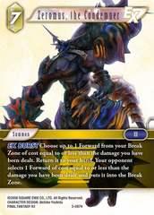 Zeromus, the Condemner - 3-087H - Foil