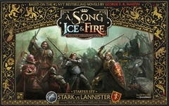 A Song Of Ice And Fire Starter Set : Stark Vs Lannister
