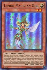 Lemon Magician Girl - MVP1-ENG51 - Gold Rare - Unlimited Edition on Channel Fireball
