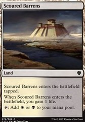 Scoured Barrens on Channel Fireball