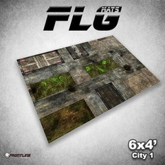 Front Line Gaming - Mats City 1 4X6