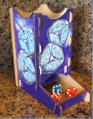 Dice Tower Knockdown - Cosmic