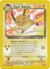 Dark Raichu - 7/110 - Non-Holo Theme Deck Exclusive