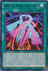 Rank-Up-Magic Skip Force - MP17-EN029 - Rare - 1st Edition